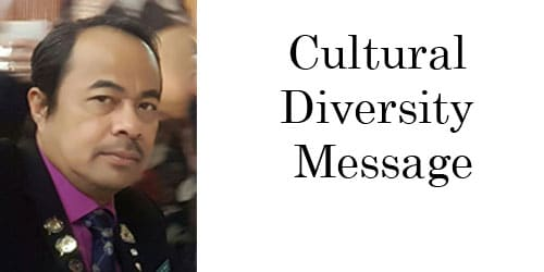 Cultural Diversity Message