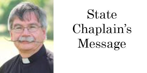 State Chaplain's Message