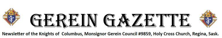 Artwork Gerein Gazette