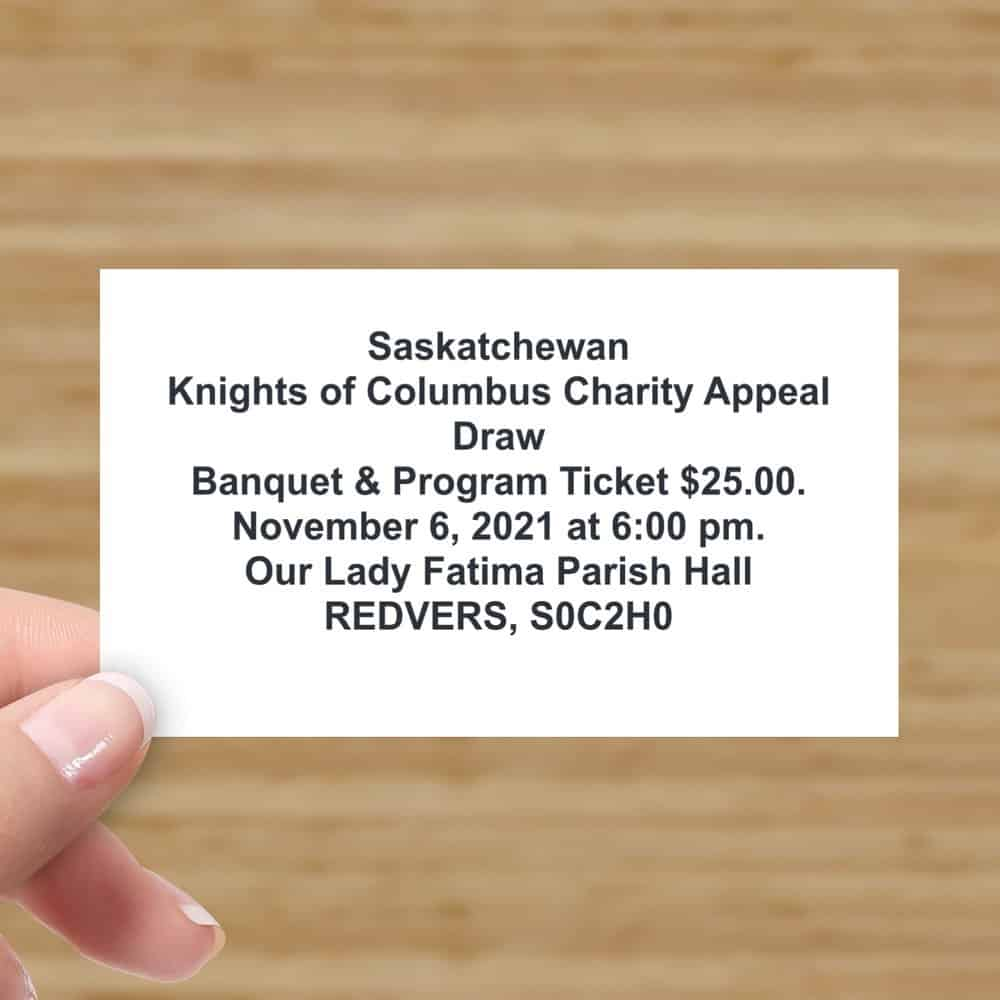 Charity Appeal Card